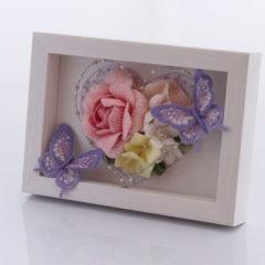BOXフレーム(花・蝶)