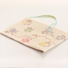 ブックカバー(毛糸と猫)